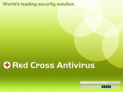 RedCrossAntivirus loading