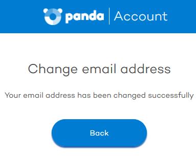panda security my account