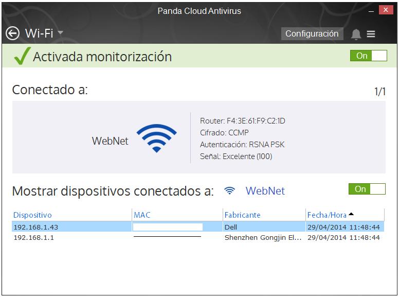 Monitor WiFi