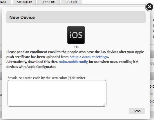 How to install/uninstall Mobile Device Management for iOS devices