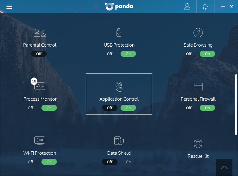 What Is The Application Control Of Panda Dome Products Technical