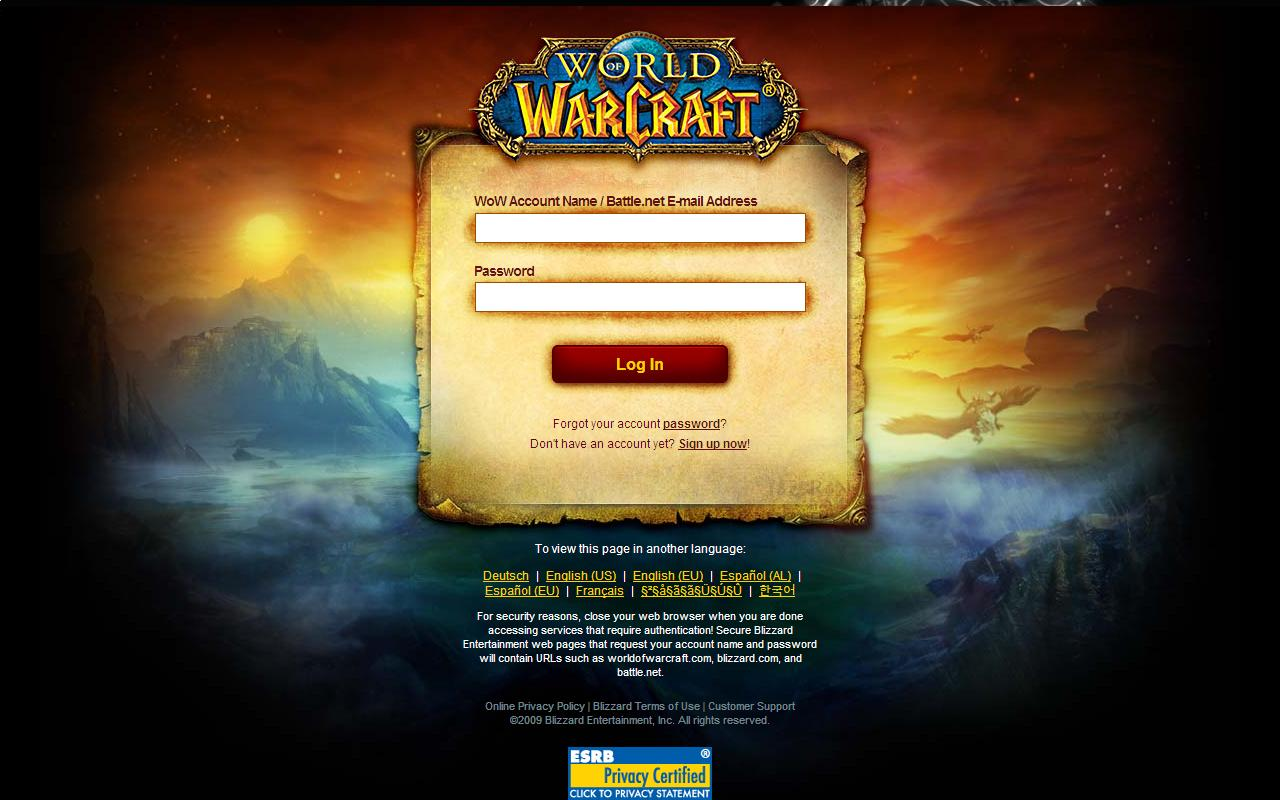 How to obtain thousands World of Warcraft accounts for free