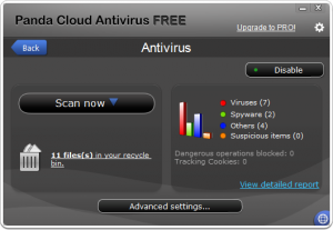 Panda Cloud Antivirus 2.0