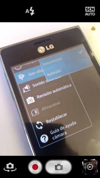 Disable the GPS to your Mobile Phone Camera