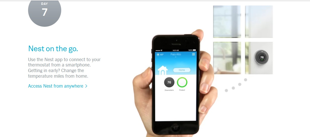 Nest, the Google thermostat