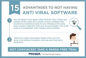 15 advantages not to having antivirus
