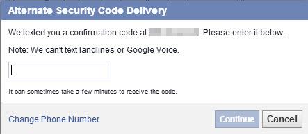 facebook-security-code