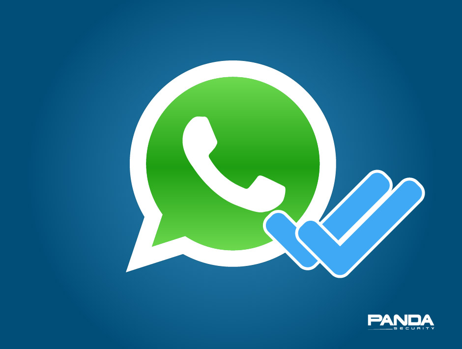 Blue double-check in WhatsApp. Your message has been read ...