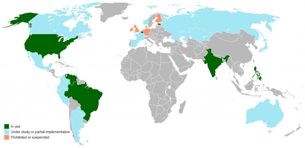world-electronic-voting