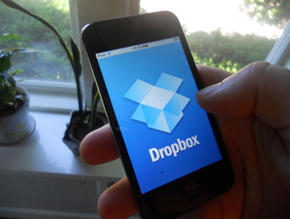 dropbox ipod