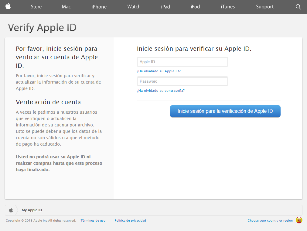 Apple ID user? Careful! There is a new phishing attack