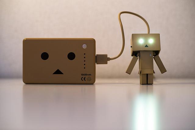 smartphone battery charging