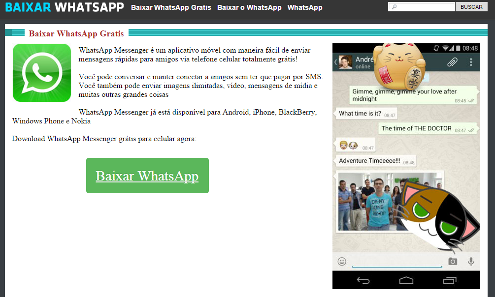 WhatsApp for Android: Always download it from Google Play! - Panda