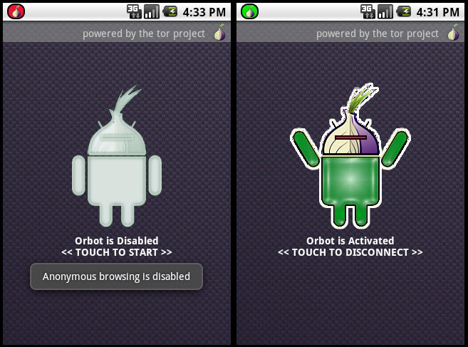 android tor