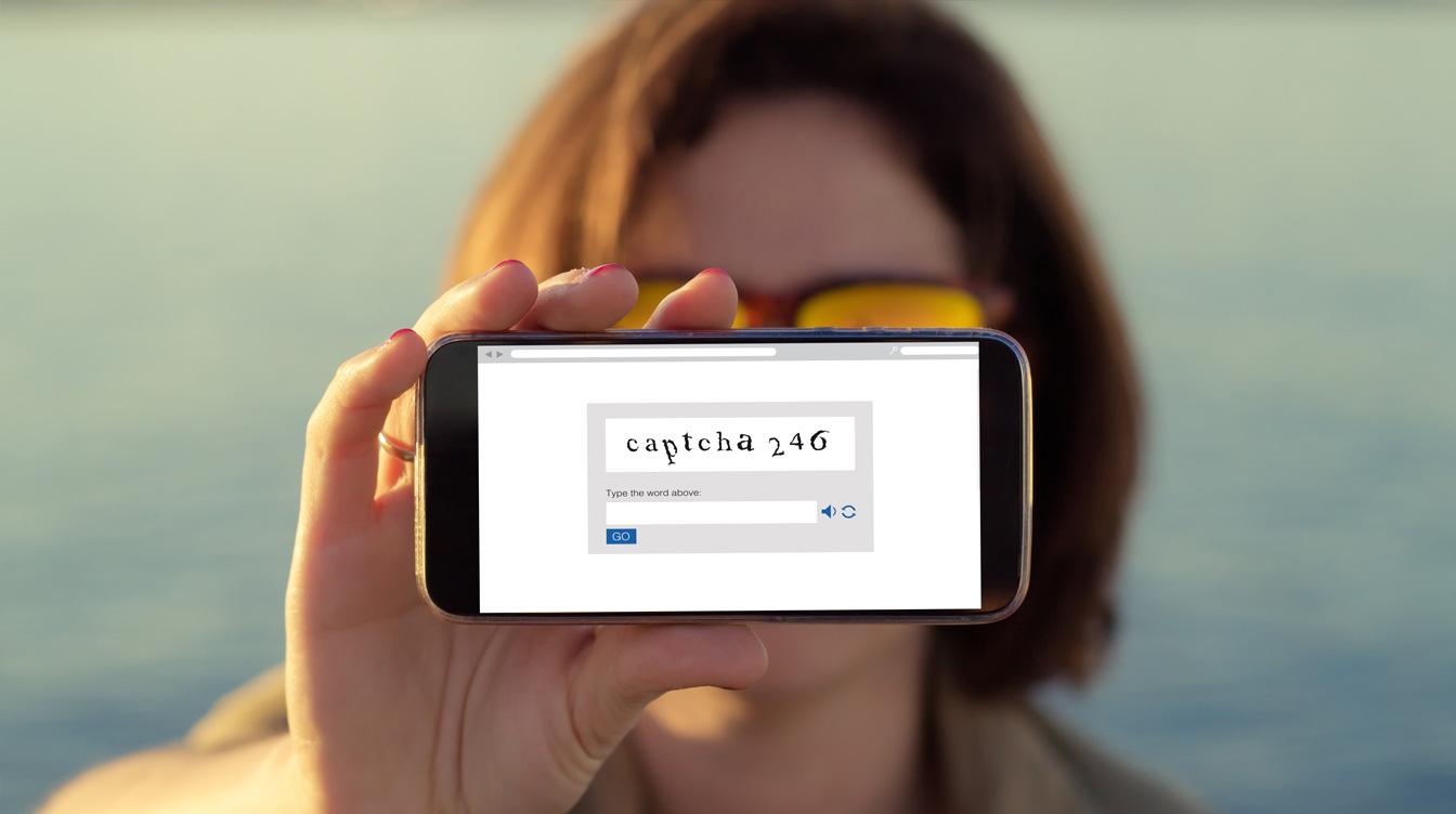 captcha code on iphone