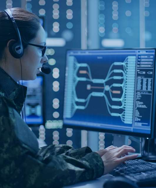 What can organizations learn from military cyberdefense?