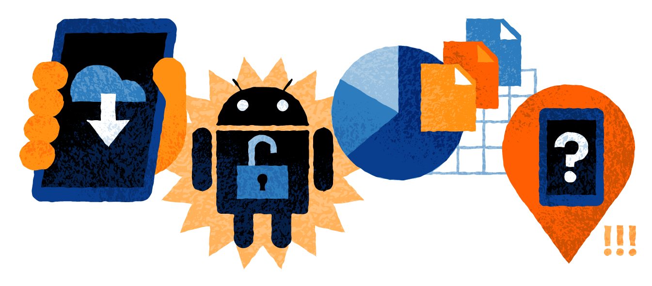 images that depict how you can use your android