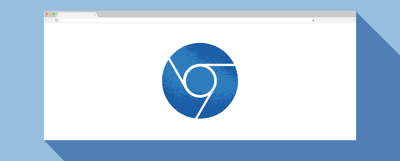 graphic of chrome browser