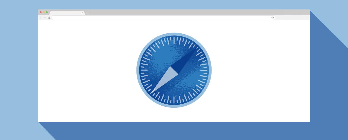 graphic of safari browser