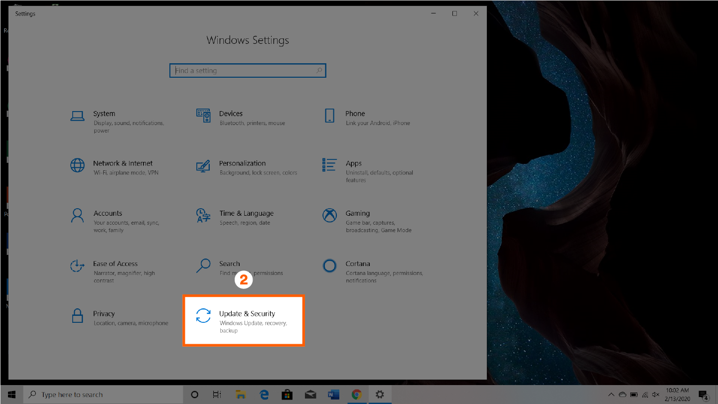 screenshot that shows step 2 of how to check your cpu temp manually
