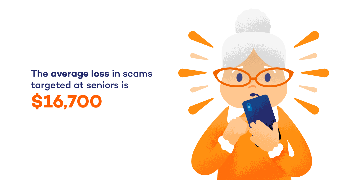 statistic about senior scams