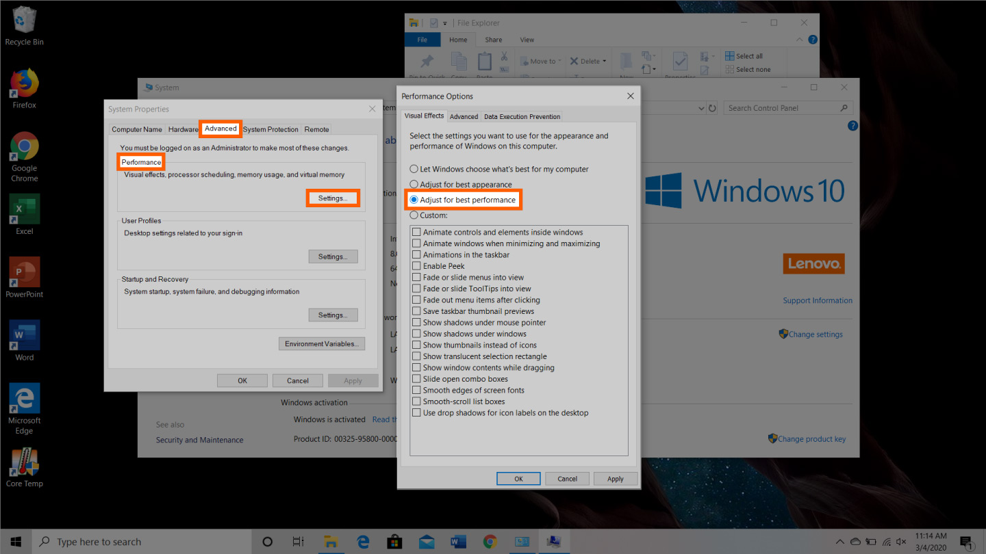 screenshot of how to free up ram on windows device step 5