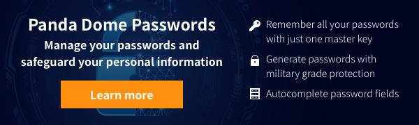 password manager Panda Security
