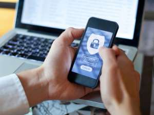 man-entering-password-on-phone