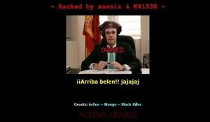 Belen_Esteban_website_hacked