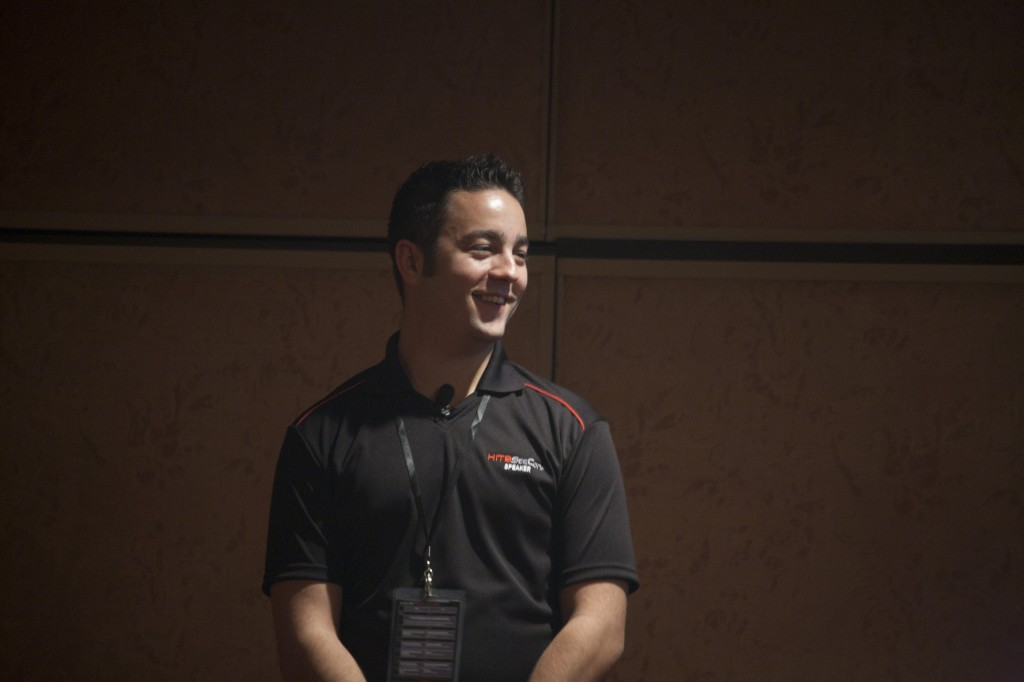 Sean-Paul Correll hablando en HITB Malasia 2010