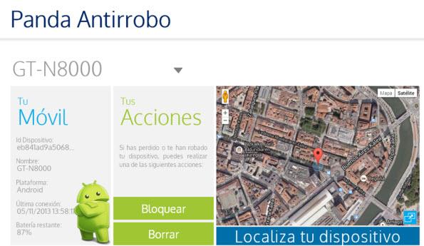 Localiza tu móvil Android