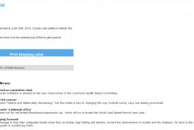 troyano - correo electrónico