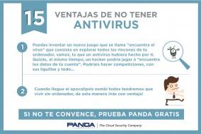 15 ventajas no tener antivirus