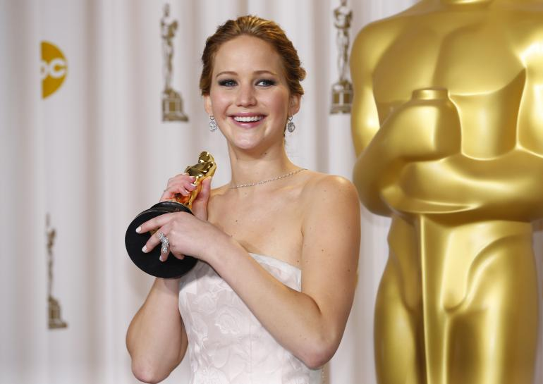 jennifer lawrence oscar