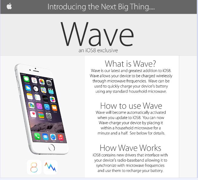 timo iPhone 6 se recarga en el microondas