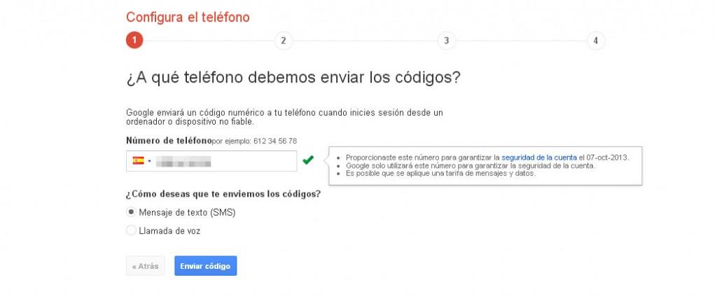 gmail-código