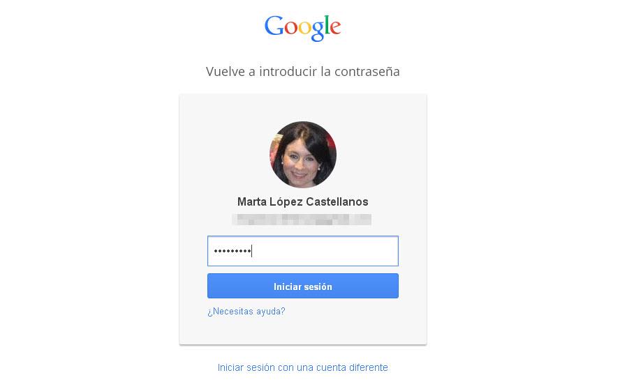 gmail-contraseña