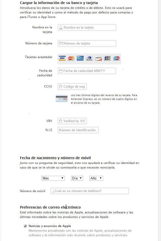 phishing apple datos personales