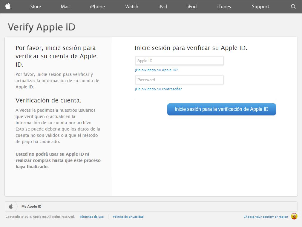 phishing apple email