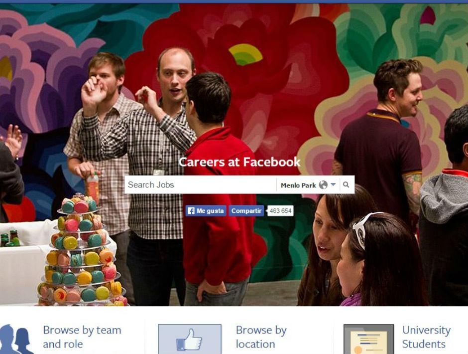 careers at facebook