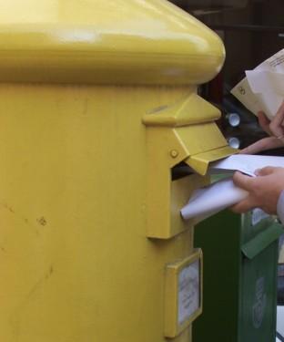carta buzon correos