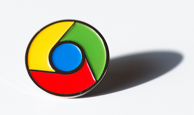 chrome pin
