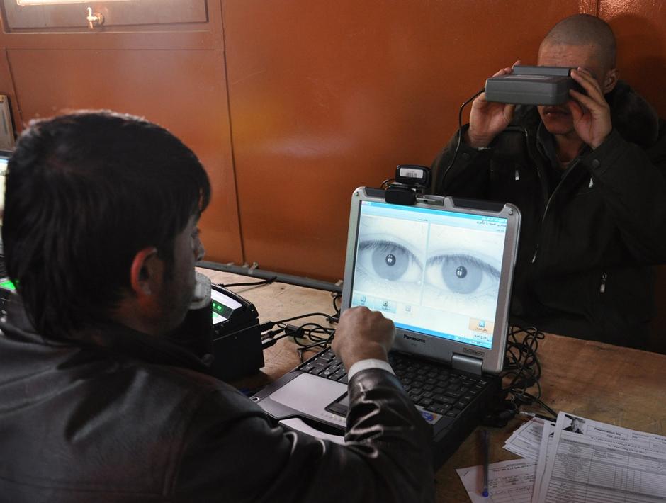 escáner ocular