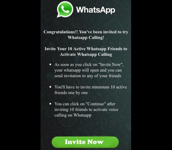 whatsapp calling timo