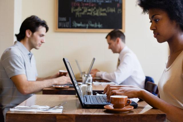 café con wifi