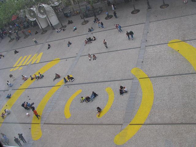 wifi en la calle