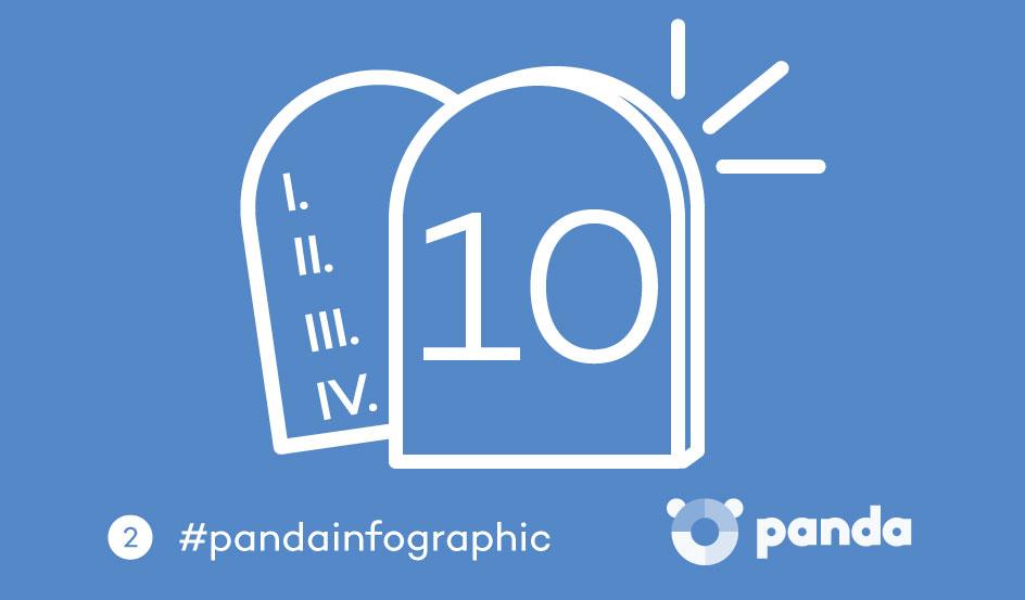 Panda 10 mandamientos