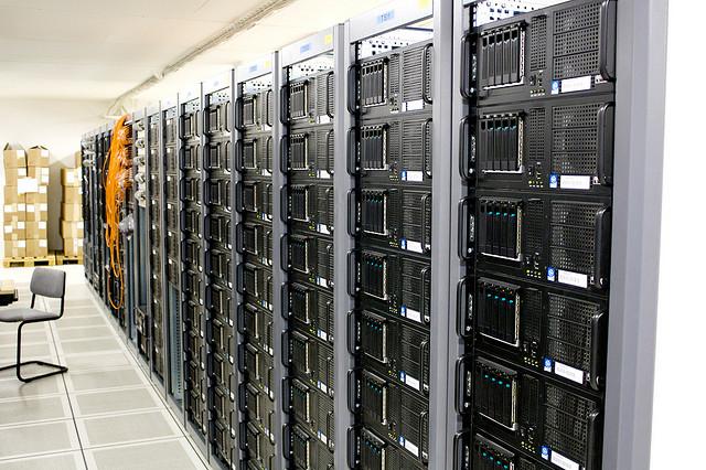 servidores, almacenar, datos