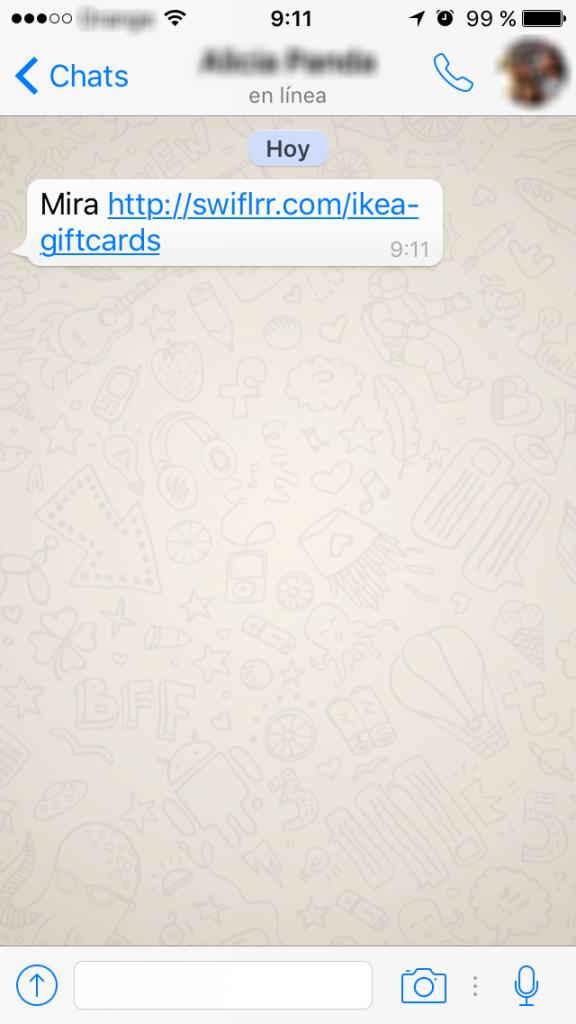 Las cinco estafas m s populares de whatsapp de 2015 for Bases para picas