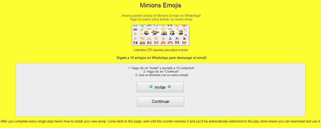 emojis minions